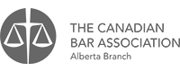 logo of the Canadian Bar Association Alberta Branch